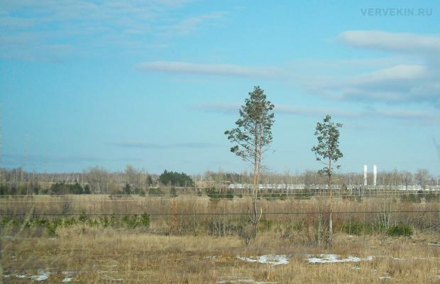 Из окна поезда: меняющиеся пейзажи