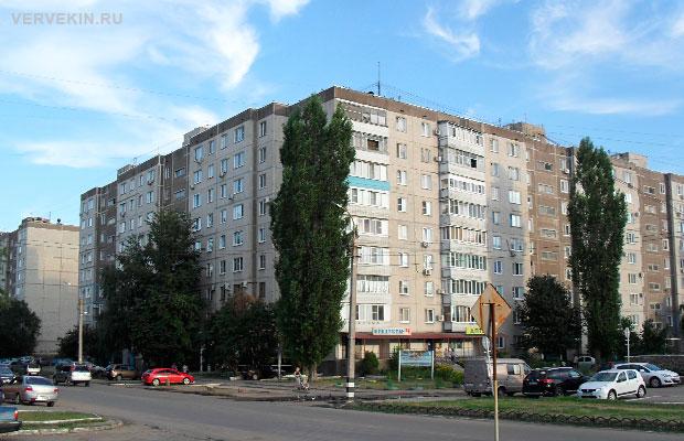 г. Россошь, ул. Простеева - район высоток