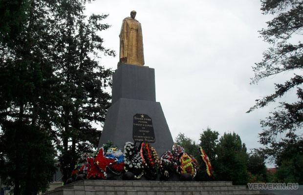 Памятник неизвестному солдату Россошь