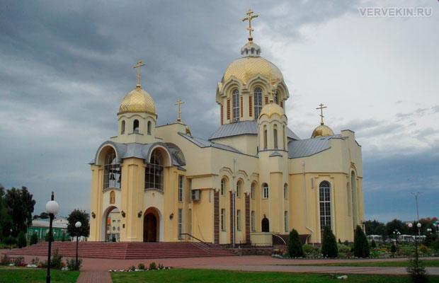Православный храм Илии пророка в Россоши