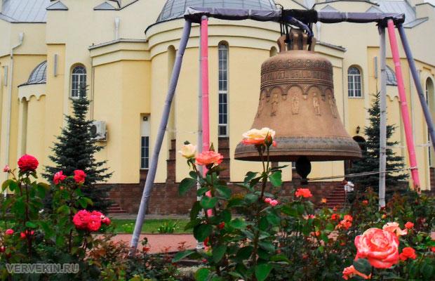 Колокол у Ильинского храма в Россоши