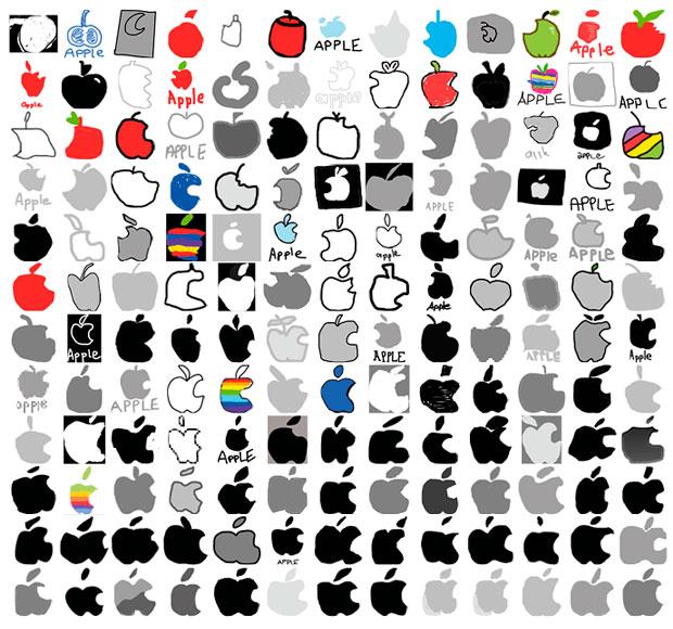 Тест компании sign.com: 150 американцев попросили нарисовать логотипа Apple