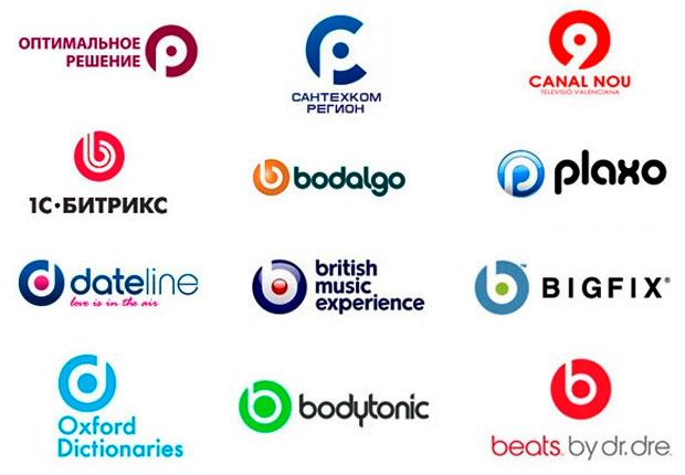 Похожие логотипы - норма в современном дизайне.