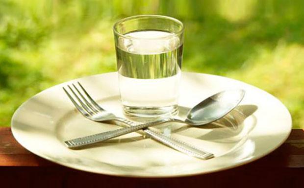 Трехдневное голодание: первый день