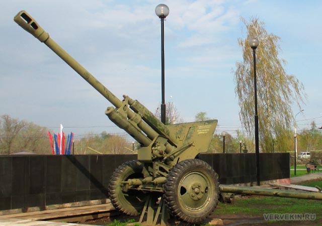 Парк Патриотов (Воронеж): 76 мм дивизионная пушка