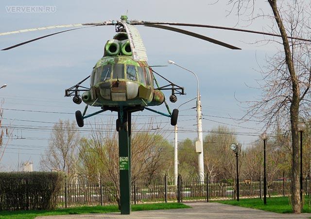 Парк Патриотов (Воронеж): вертолет Ми-8Т