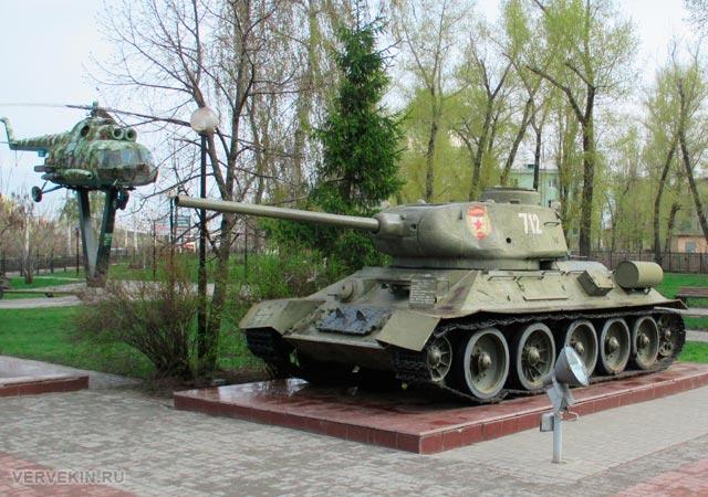 Музей-диорама (Воронеж): танк Т-34