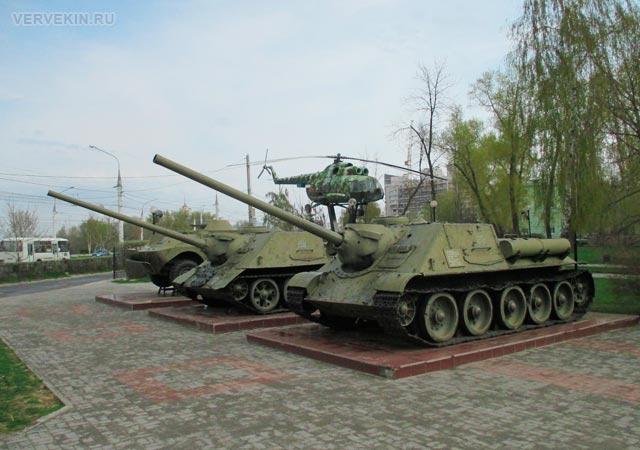Музей-диорама (Воронеж): военная техника