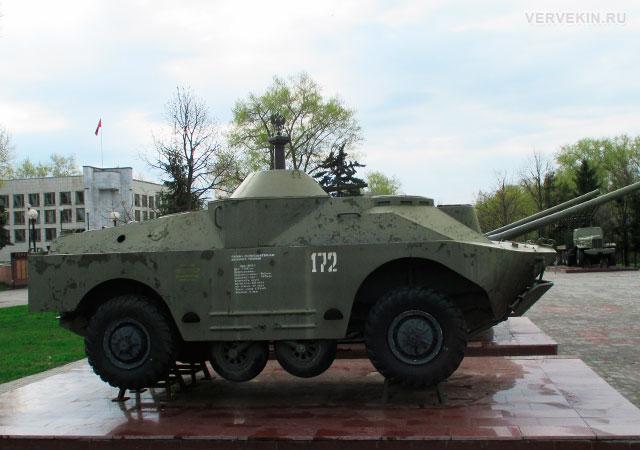 Музей-диорама (Воронеж): боевая разведывательная дозорная машина