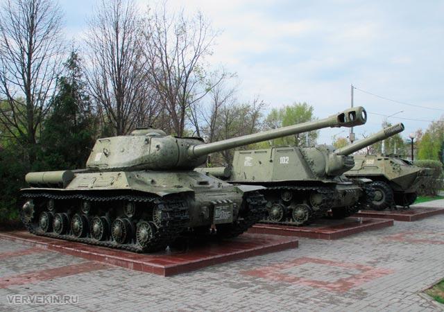 Музей-диорама (Воронеж): боевая техника под открытым небом