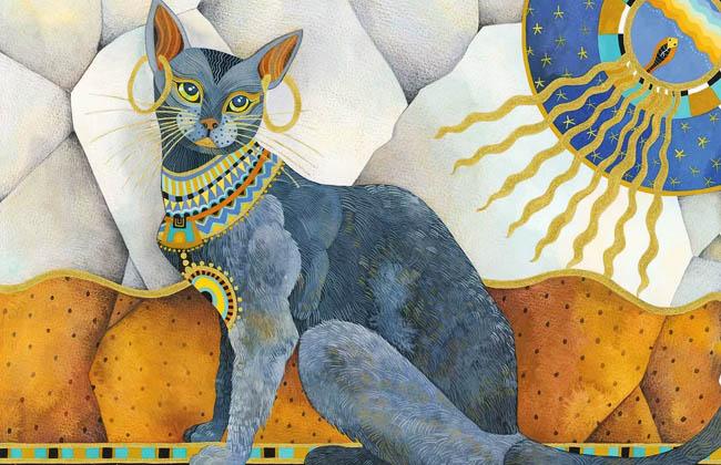Почитание кошек в Древнем Египте: богиня Баст