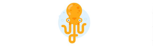 Октавиус, он же Октопус, он же осьминог - символ нового дизайна Майл Ру