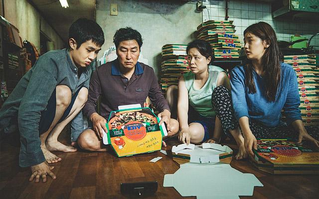 "Кадр из фильма ""Паразиты"", реж. Пон Джун-хо, Южная Корея, 2019 г."
